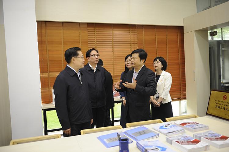 全国人大常委会副委员长王东明到广药集团调研