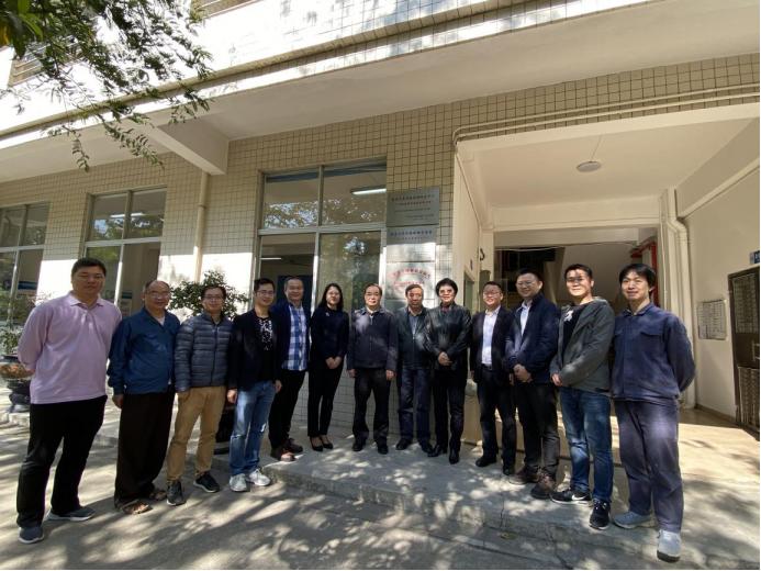 市国资委张道泉副主任带队到国家犬类实验动物资源库增城基地调研